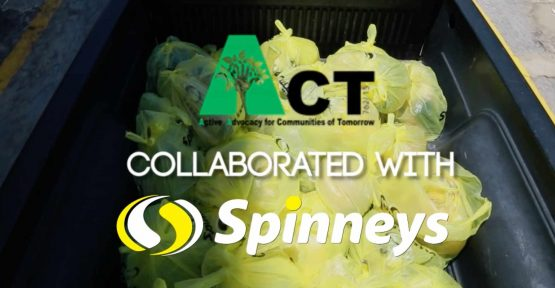 Spinneys ACT4FOOD WASTE PROJECT 2017